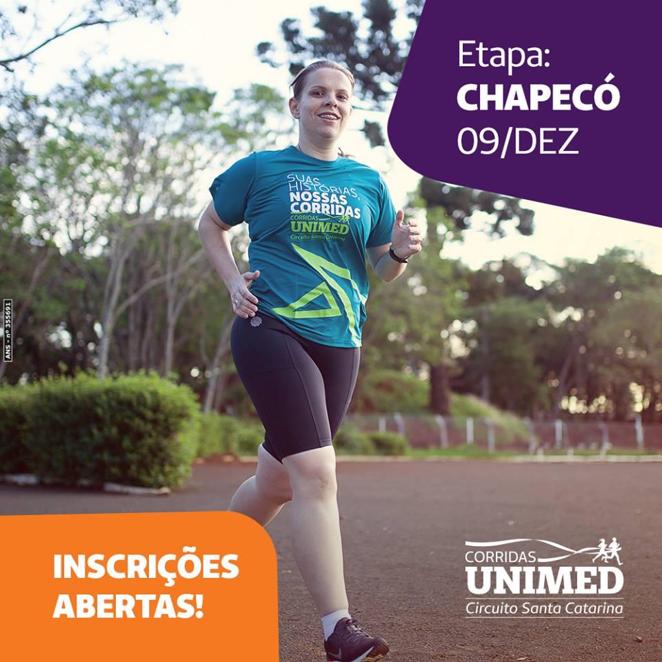 Inscrições abertas para Corridas Unimed - Etapa Chapecó - Notícias ... 64f5094e6a1
