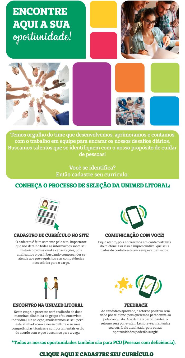 37b23b90d145b Trabalhe Conosco - Unimed Litoral