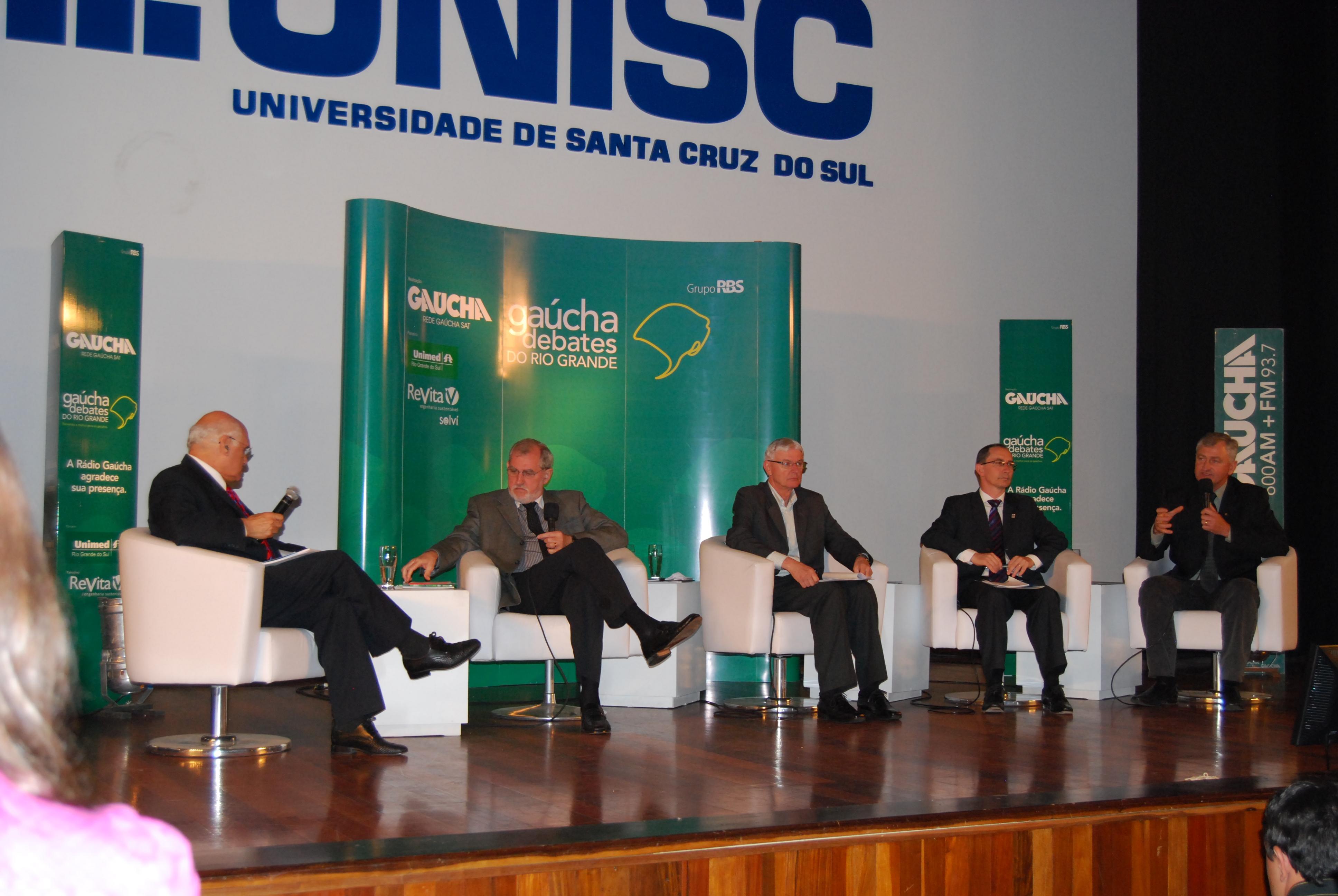Debates do Rio Grande discute o desenvolvimento do Vale do Rio Pardo ... 98fd6a8cd4