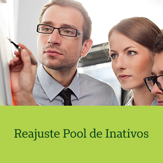 Reajuste Pool de Inativos